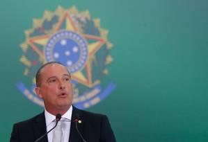 Onyx Lorenzoni, ministro da Casa Civil no governo de Jair Bolsonaro Foto: Pablo Jacob / Agência O Globo