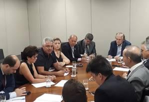 Reunião de deputados eleitos do PSL Foto: Divulgação