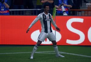 """""""Fifa 2019"""" foi o jogo mais vendido em 2018 no Reino Unido Foto: Reprodução"""