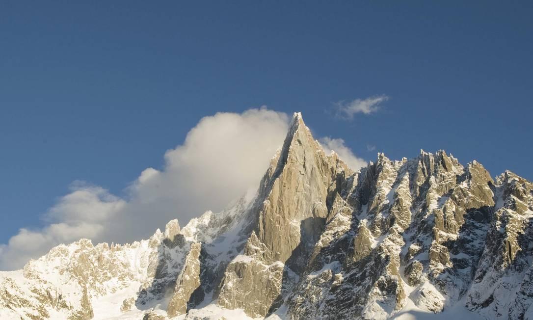 Montanhas de Chamonix Foto: Andrea Wyner/NYT