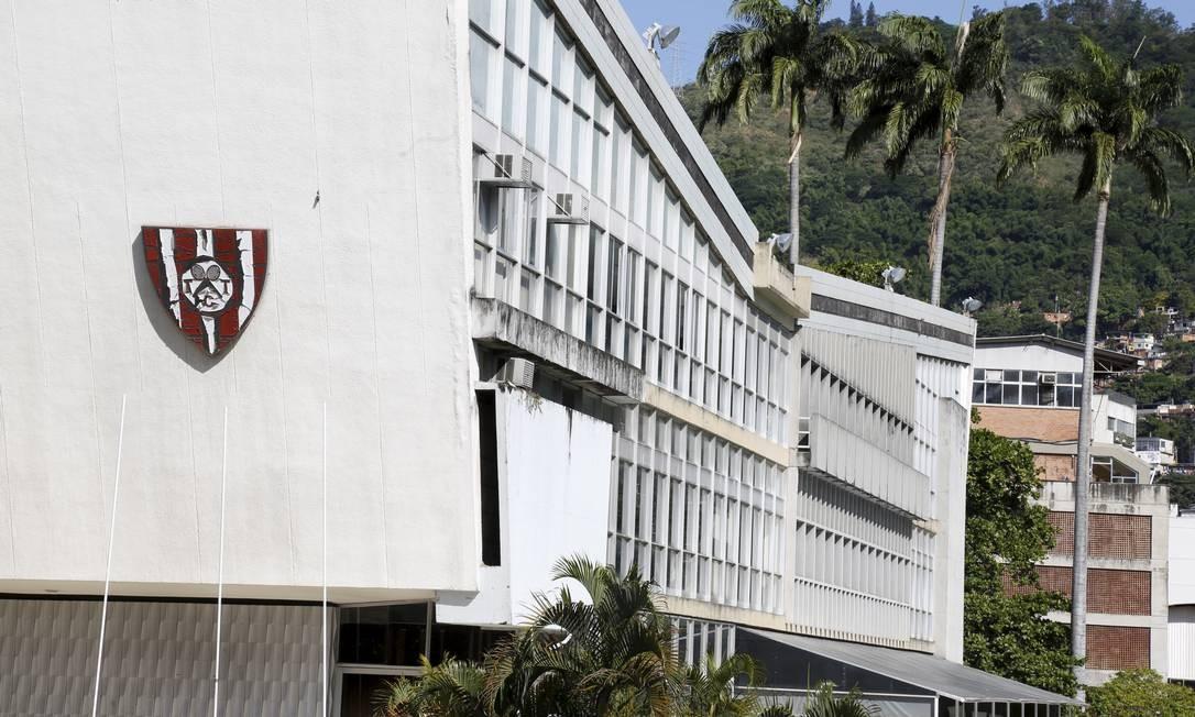 Sede do clube Tijuca Tênis Clube pode virar shopping Foto: Marcos Ramos
