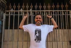 Pedro de Luna, autor de 'Planet Hemp: Mantenha o respeito': biógrafo rebate acusações Foto: Marcelo Régua / Agência O Globo