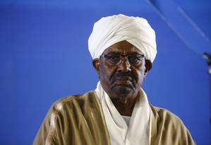 Presidente sudanês, Omar al-Bashir Foto: ASHRAF SHAZLY / AFP