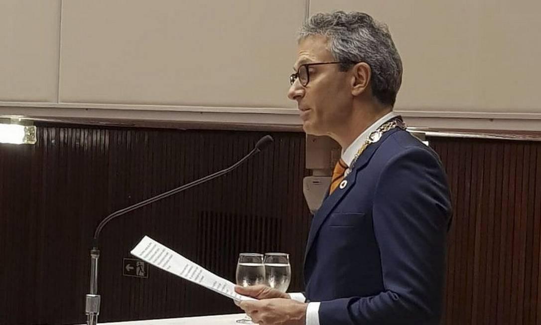 O governador de Minas Gerais, Romeu Zema (Novo) Foto: Divulgação