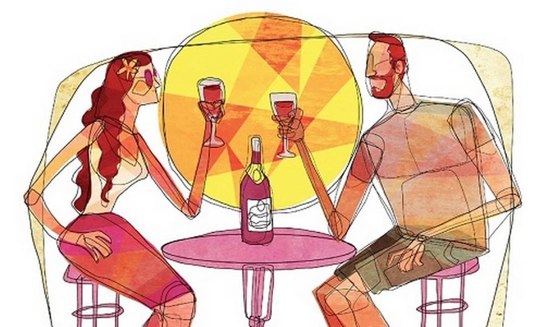 Acredite: todos os tipos de vinhos são bons no verão. O negócio é saber escolher Foto: André Mello