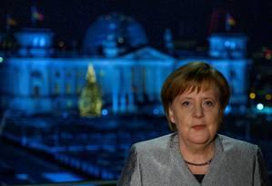 Chanceler alemã, Angela Merkel posa para foto em Berlim Foto: John Macdougall / REUTERS