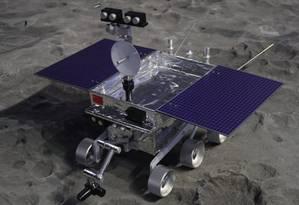 Veículo lunar Yutu 2 recolherá amostras do solo e recolherá dados de temperatura e pressão em busca da pistas sobre processo de formação da Lua Foto: Reprodução