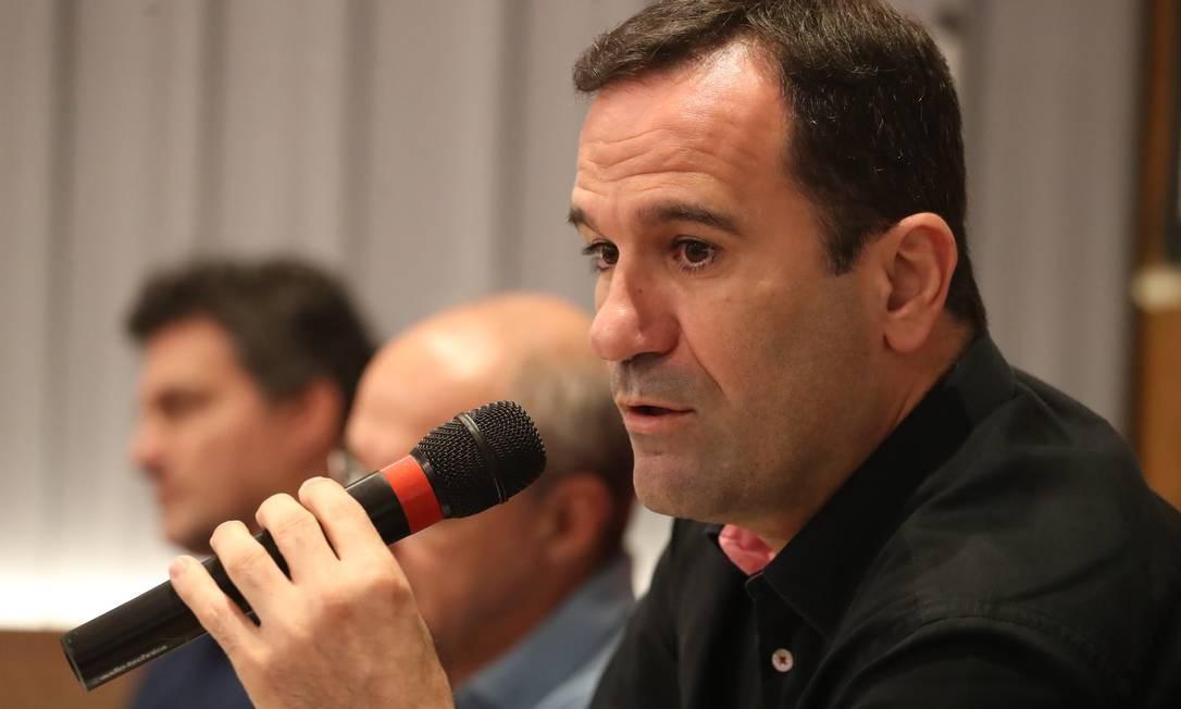 Ricardo Lomba se defende das acusações de Diego Alves Foto: Gilvan de Souza/Flamengo