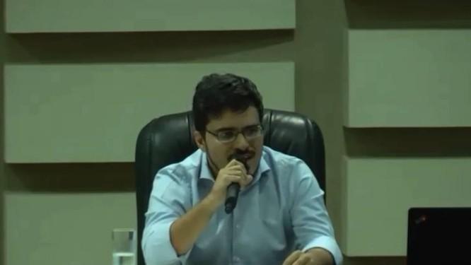 Murilo Resende Ferreira participa de audiência do Ministério Público Federal Foto: Reprodução/Youtuibe