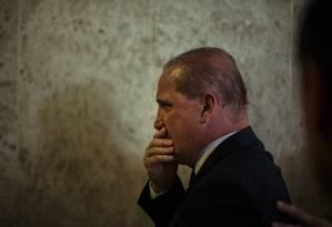 Onyx: medida ainda gera crítica de generais Foto: Daniel Marenco / Agência O Globo