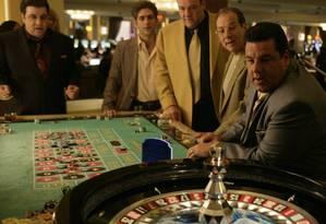 Tony Soprano e sua gangue de mafiosos Foto: Divulgação