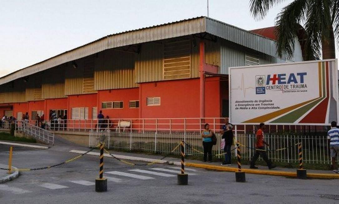 Criança foi levada para hospital Alberto Torres (arquivo) Foto: Uanderson Fernandes / Agência O Globo
