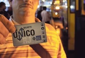 O Bilhete Único Intermunicipal será concedido a um maior número de passageiros, se projeto for sancionado Foto: Domingos Peixoto / Agência O GLOBO