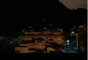 Moradores de Botafogo relatam forte tiroteio no Morro Dona Marta Foto: Redes Sociais