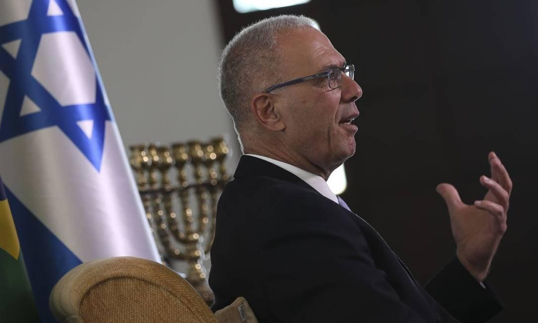 "Yossi Shelley diz que presidente será recebido com ""honras de rei"" Foto: Marcello Casal Jr/Agência Brasil"