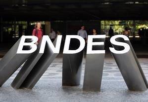 Sede do BNDES no Rio de Janeiro Foto: Lucas Tavares / Globo
