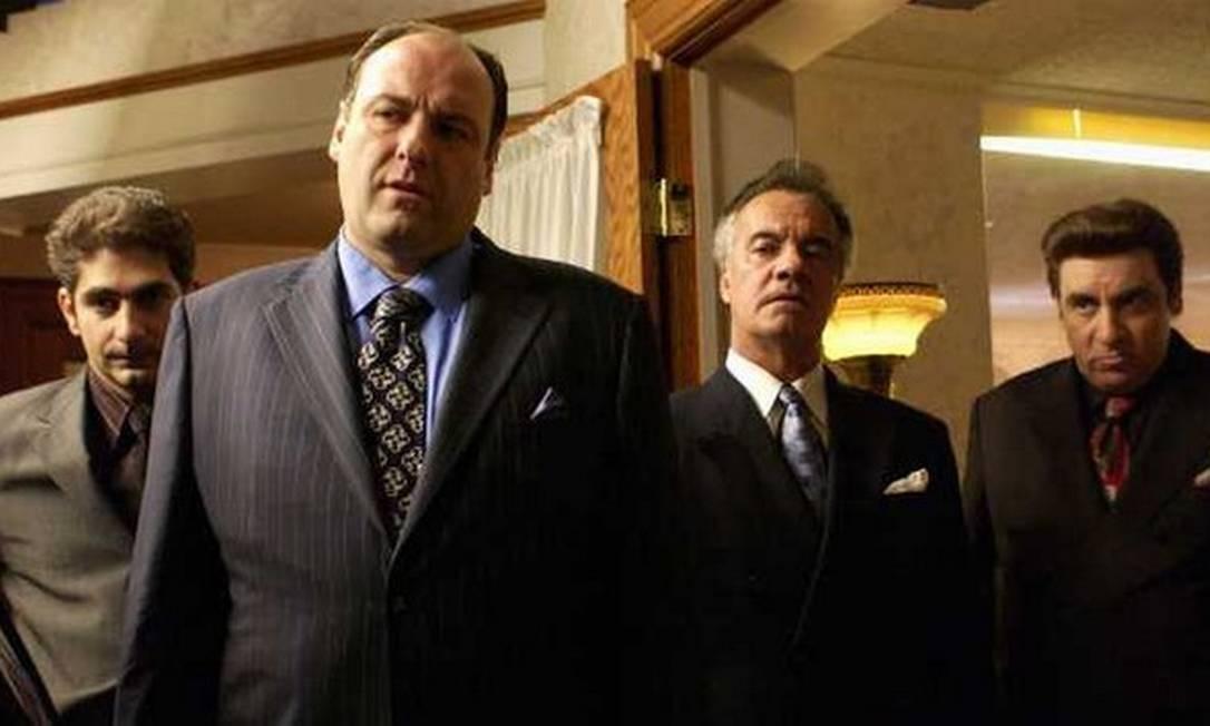 """Parte do elenco de """"Sopranos"""" Foto: Divulgação"""