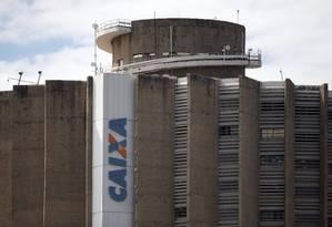 Edifício da Caixa Econômica Federal, em Brasília Foto: Jorge William / Globo