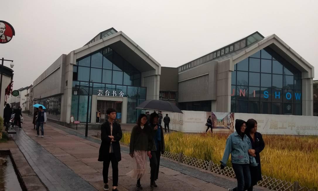 Dream Town, Cidade do Sonho, um paraíso para empreendedores em Hangzhou Foto: João Sorima Neto / João Sorima Neto