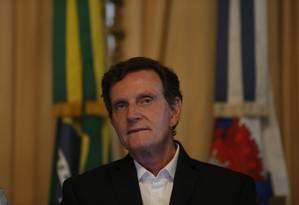 Crivella terá nova reunião com dirigentes de escolas de samba Foto: Pablo Jacob / Pablo Jacob
