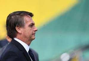 O presidente da República Jair Bolsonaro Foto: Evaristo Sá / AFP