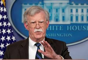 John Bolton viajará à Turquia na segunda-feira Foto: 27-11-2018/ Kevin Lamarque / REUTERS