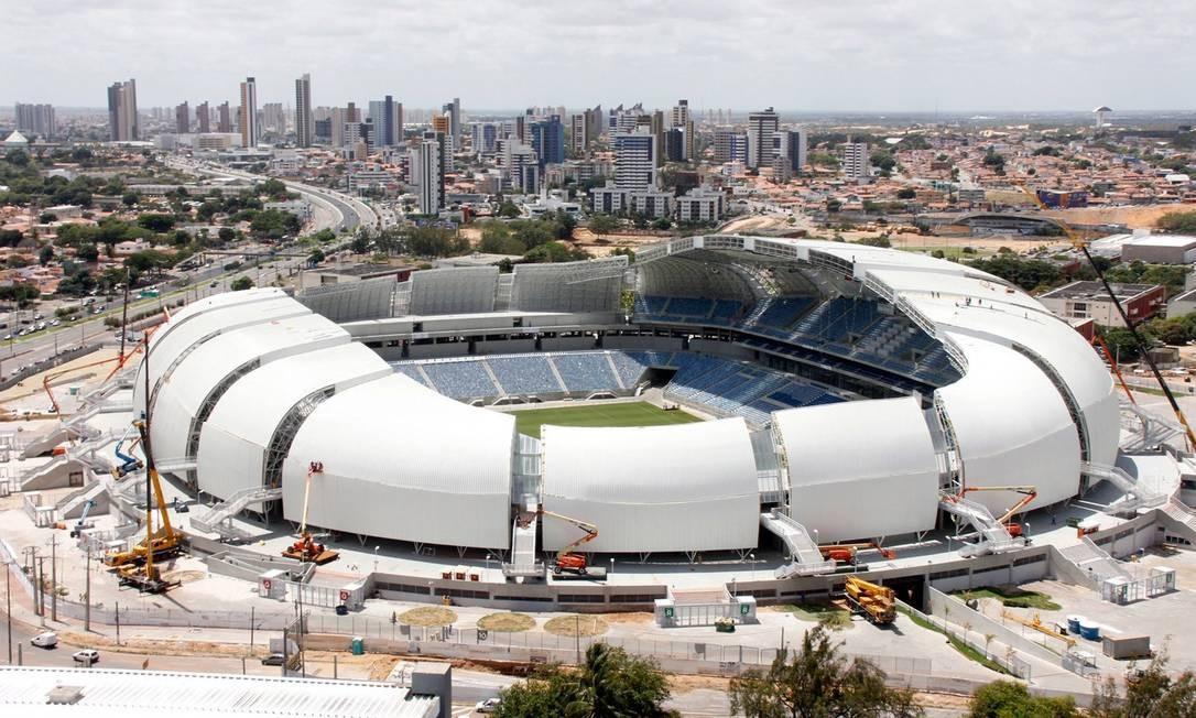 Arena das Dunas foi inaugurada em 2014 Foto: Divulgação