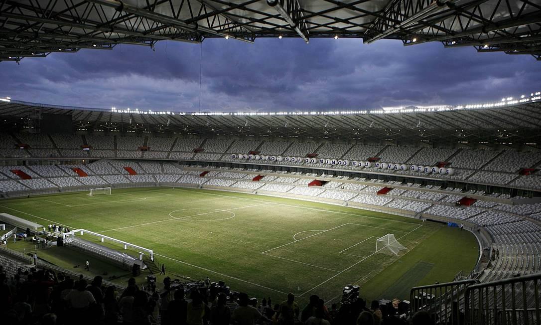 Visão geral do Estádio Mineirão, em Belo Horizonte Foto: Washington Alves / Washington Alves/Reuters