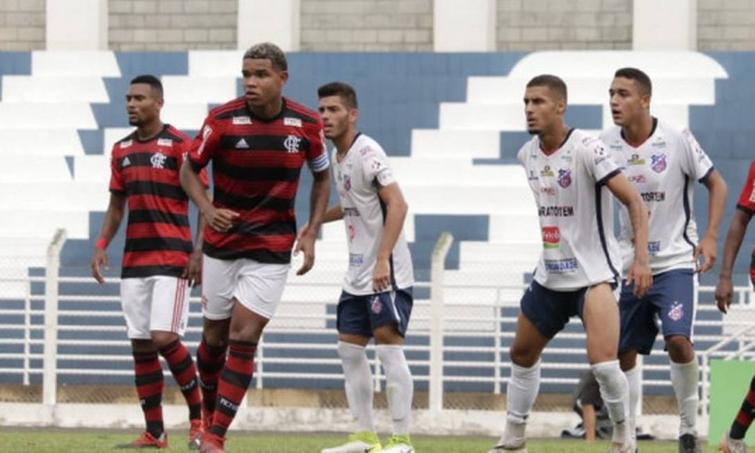 Flamengo perdeu para o Trindade na Copa São Paulo Foto: Divulgação Flamengo