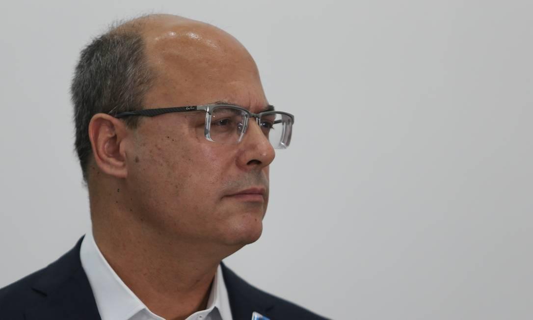 Witzel defendia aplicação de penas alternativas Foto: Pedro Teixeira / Agência O Globo