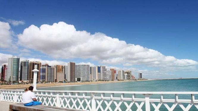 Fortaleza é uma das cidades que pode ser beneficiada com sistema de dessalinização de água do mar Foto: Marcos Moura / Prefeitura de Fortaleza/Divulgação