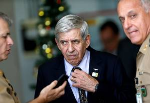 O ministro do Gabinete de Segurança Institucional, Augusto Heleno Foto: Adriano Machado/Reuters/03-01-2018