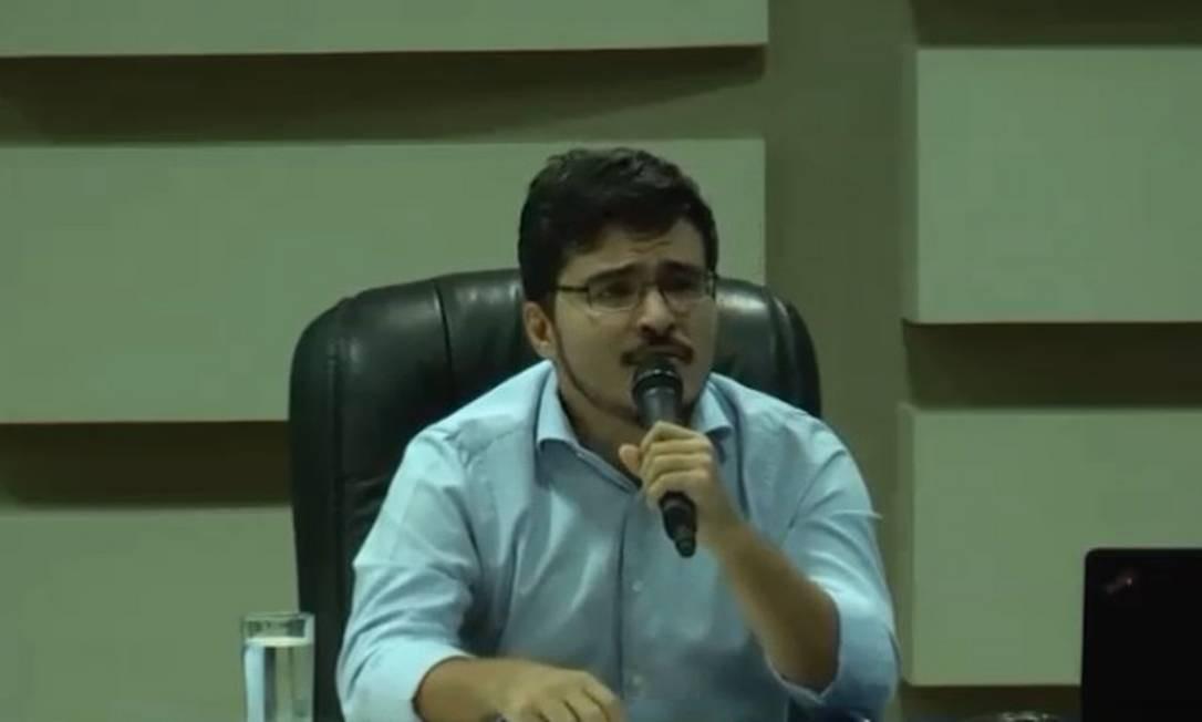 Murilo Resende Ferreira participa de audiência do Ministério Público Federal Foto: Reprodução/Youtube