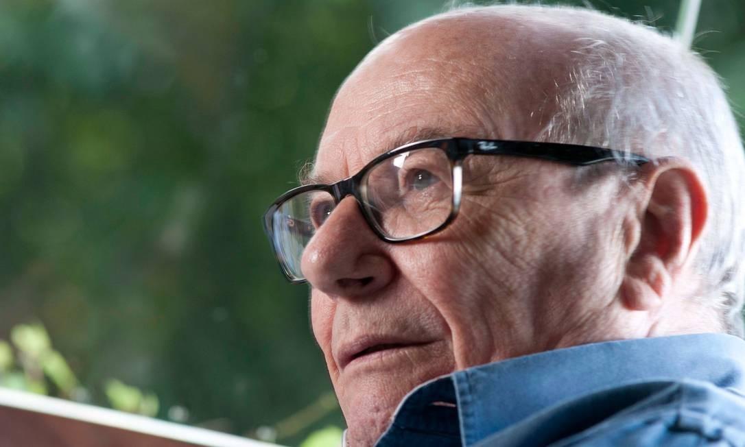 O filósofo José Arthur Giannotti, em foto de 2015 Foto: Silvia Costanti / Valor