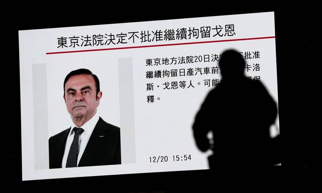 A prisão do brasileiro Carlos Ghosn envolve suposta fraude financeira, briga por poder e possível conspiração Foto: Behrouz Mehri / AFP