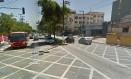 Via onde ocorreu o tiroteio Foto: Google Street View