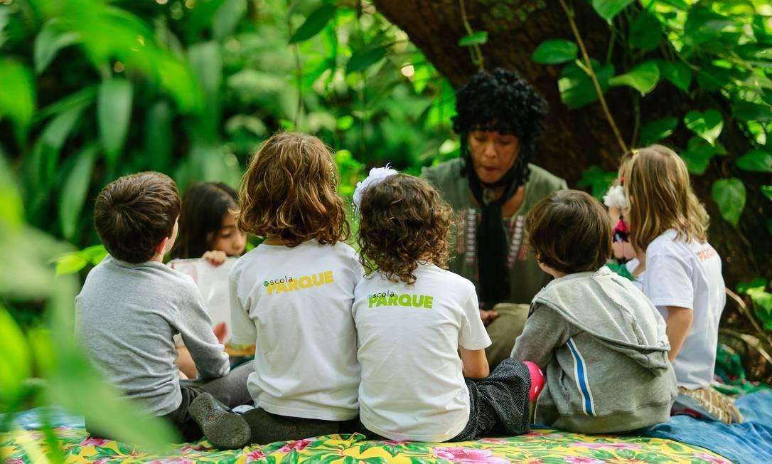 A Escola Parque, no Rio, é uma das signatárias do documento Foto: Brenno Carvalho / Agência O Globo