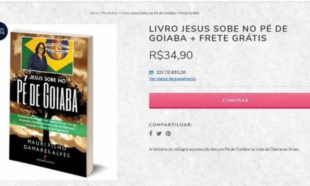 Anúncio da venda do livro