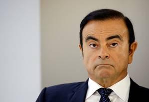 Brasileiro Carlos Ghosn, ex-presidente da Nissan, preso no Japão Foto: Regis Duvignau / REUTERS