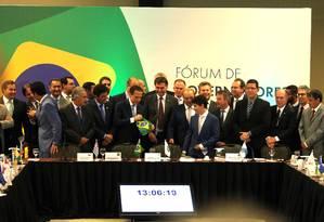 Reunião de governadores com o Bolsonaro 14/11/2018 Foto: Jorge William / Agência O Globo