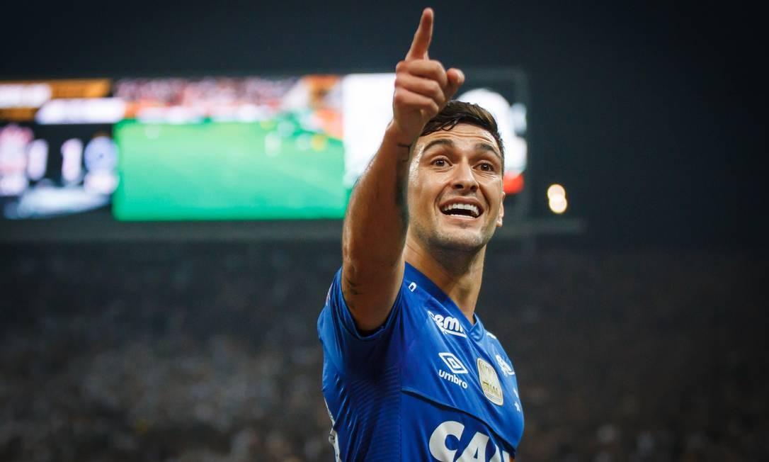 Arrascaeta conquistou o bicampeonato da Copa do Brasil com o Cruzeiro Foto: Vinnicius Silva/Cruzeiro/Divulgação