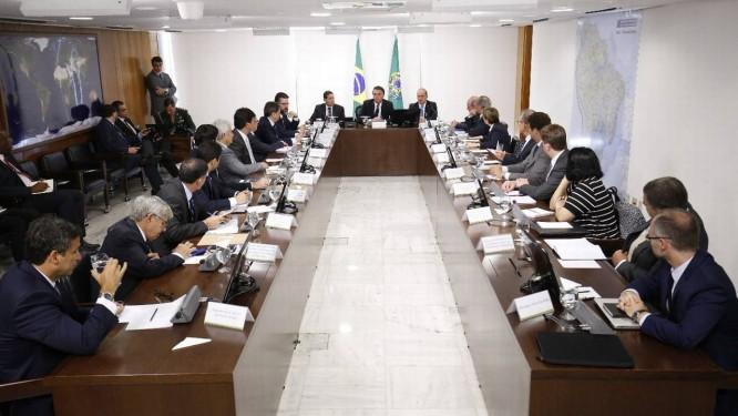 Segunda reunião ministerial de Jair Bolsonaro Foto: Divulgação/Planalto