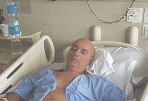 Fabricio Queiroz submeteu-se a uma cirurgia no Hospital Albert Einstein, em São Paulo, para retirada de tumor do intestino. Foto: Reprodução