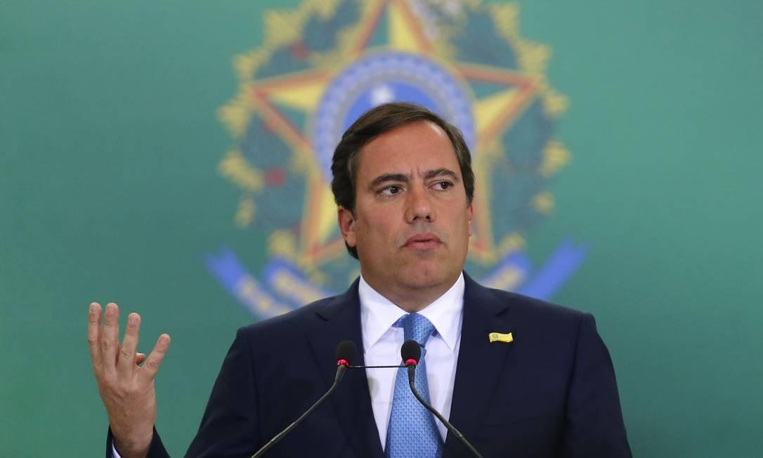Pedro Guimarães disse, ao tomar posse, que Caixa vai respeitar lei da oferta e da demanda Foto: Jorge William / Agência O Globo