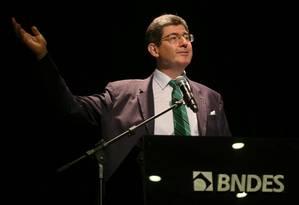 Joaquim Levy, presidente no BNDES Foto: Sergio Moraes / Reuters