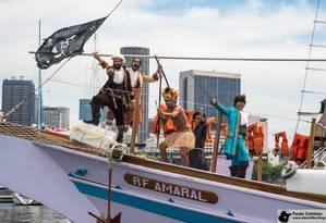 O Corsário Carioca: uma aula de história sobre as águas Foto: Divulgação
