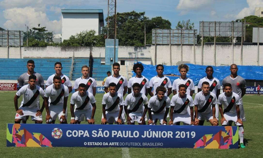 Vasco tenta seu segundo título da Copinha Foto: Divulgação