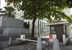 Entrada do consulado americano no Rio Foto: Márcia Foletto / Agência O Globo