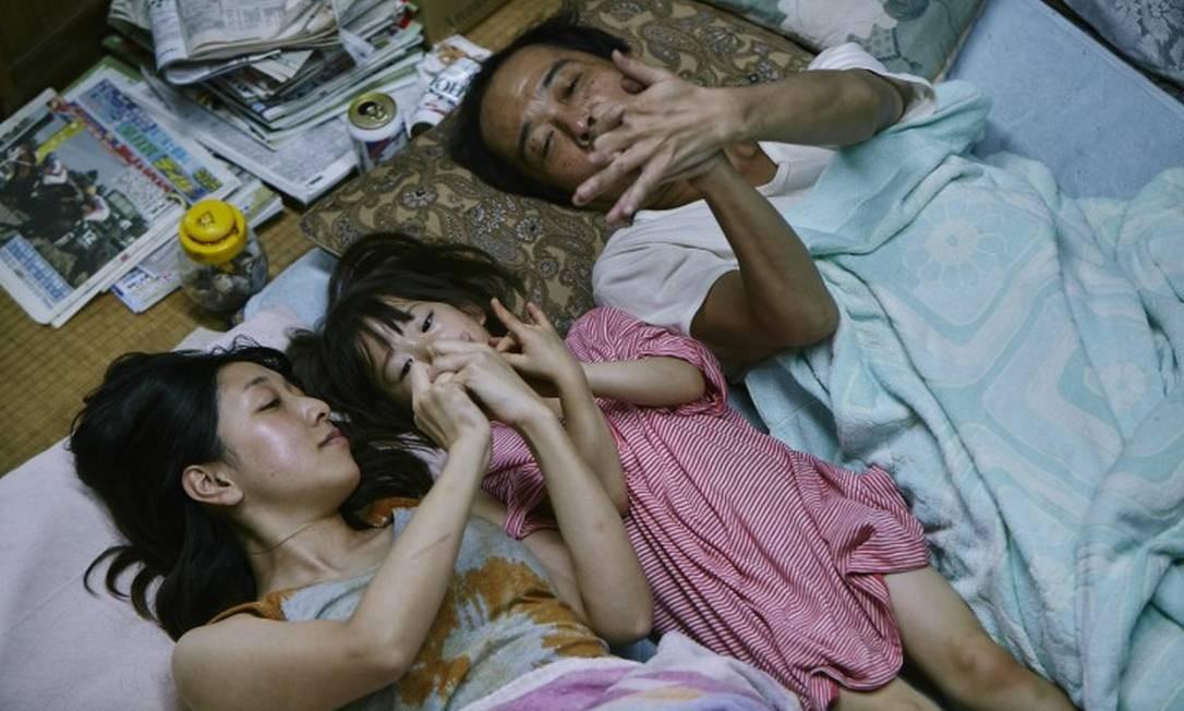 SC - Cena do filme Assunto de família, Palma de Ouro em Cannes Foto: divulgação