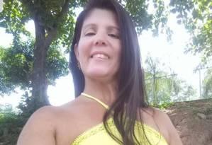 Katia foi estuprada e estrangulada Foto: Reprodução